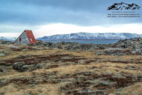 iceland reykjavik shack hiking
